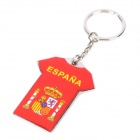 KAO20 Spain National Football Team Jersey Style Keychain - Red