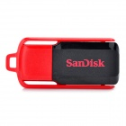 Genuine Sandisk Cruzer Switch USB 2.0 Flash Drive - Black + Red (32GB)