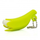 Cute Banana Style Earphone Headphone Cable Winder - Green