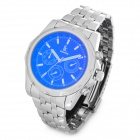 Genuine IKcolouring Water Resistant Mechanical Watch w/ Calendar Display & Unreal Colour Glass