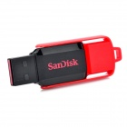 Genuine Sandisk Cruzer Switch USB 2.0 Flash Drive - Black + Red (8GB)