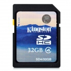 Genuine Kingston SD / SDHC Memory Card - 32GB (Class 4)