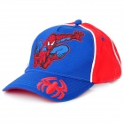 Spider-Man Pattern Hat Cap - Blue + Red