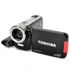 Genuine TOSHIBA Camileo H30 10MP Video Recorder Camcorder w/ SD / HDMI / AV - Black (3.0