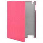 "ROCK ""Gentry"" Series Protective PU Leather Case for New Ipad / Ipad 2 - Red"
