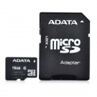 ADATA Micro SD / TF Memory Card w/ SD Adapter - 16GB (Class 4)