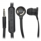 Genuine HTC G20 Stylish 3.5mm In-Ear Earphone with Microphone - Black