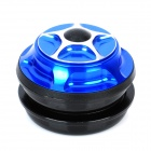 CNC Bike Bicycle Scattered Steel-Ball Headset - Blue
