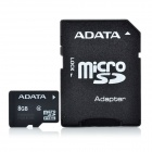 ADATA Micro SD / TF Memory Card w/ SD Adapter - 8GB (Class 4)