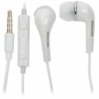 Genuine Samsung Stylish 3.5mm In-Ear Earphone with Microphone for i9220 - White