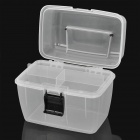 PP Plastic Pills / Gadgets Organizer Container Box - White