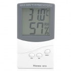 "2.4"" LCD Indoor/Outdoor Digital Thermometer/Humidity Meter (1 x AAA)"