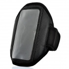 Trendy Outdoor Sports Arm Band for HTC ONE X - Black