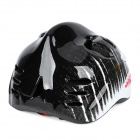 Shark Style Cycling Bike Bicycle Helmet for Children - Black + White + Red (Size-S)