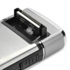 Stainless Steel Electric Rechargeable Shaver Razor - Silver