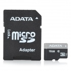 ADATA Micro SD / TF-Speicherkarte w / SD-Adapter - 16GB (Class 10)
