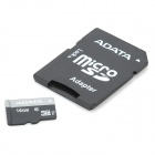 ADATA Micro SD / TF Memory Card w/ SD Adapter - 16GB (Class 10)