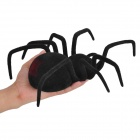 Remote Controlled Simulation Black Widow Spider Toy (4 x AAA)