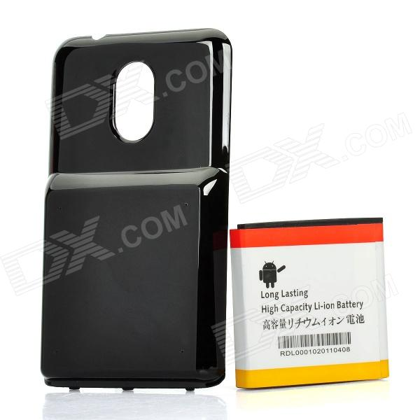 Replacement 3.7V 3500mAh Extended Battery Pack + Back Case for Samsung D710 / i917