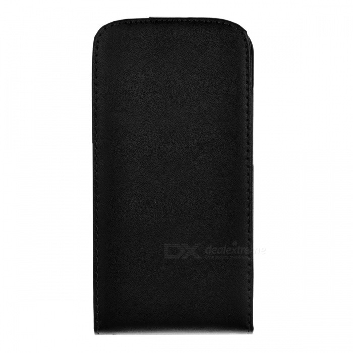 Protective Top Flip Leather + Plastic Case Cover for HTC One XLeather Cases<br>ModelHTCMaterialPUForm  ColorBlackPacking List<br>