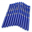 Cosmetic Makeup Rotation Eyeliner Pencil - Blue (12-Piece Pack)