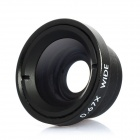 0.67 x Wide Angle / Macro Lens for Cellphone / Camera - Black