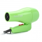 750W 2-Mode Hair Dryer - Green (AC 220V / 2-Flat-Pin Plug)