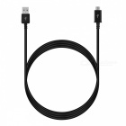 Micro USB Male to USB Male Cable for Samsung - Black