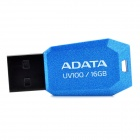 ADATA UV100 Ultra-Thin USB 2.0 Flash Drive - Blue (16GB)