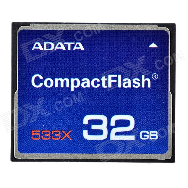 Genuine ADATA Compact Flash CF Memory Card - 32GB (533X)