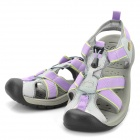 Topsky Women's Outdoor Sandals Shoes- Purple (Size 35)