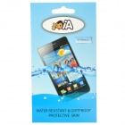 Protective TPU Skin Waterproof Cover Case Bag for Samsung Galaxy S i9000 - Transparent