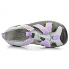 Topsky Women's Outdoor Sandals Shoes- Purple (Size 37)
