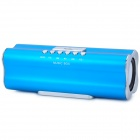 X168 MP3 Player Speaker w/ FM / USB / TF - Blue