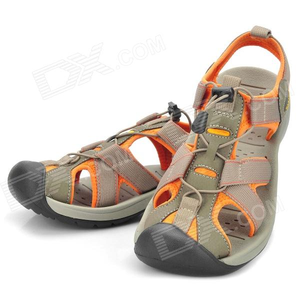 Topsky Outdoor Ravine River Tracing Canyoning Shoes for Women - Grey + Orange (39 EUR/Pair)