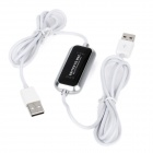 USB 2.0 PC to MAC Connection Cable - Black + Silver (165cm)