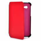 Flip Open Protective PU Leather Case for Samsung Galaxy Tab P3100 - Red