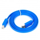 USB 2.0 Printer Scanner Connection Flat Cable - Azul (145cm)