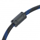 Gold Plated 1080p HDMI V1.3 Male to Male Connection Cable - Blue + Black (500cm)