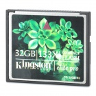 Kingston Elite Pro Compact Flash CF Memory Card - 32GB (133X)