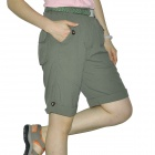Women's Topsky Outdoor Quick Dry Shorts Pants - Army Green(Size-XL)