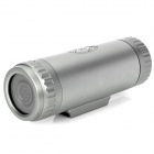 Sports Diving 5.0MP CMOS Wide Angle Video Recorder Camcorder w/ TF - Silver Grey