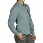 Topsky Outdoor Quick Dry Long Sleeves Shirt for Women - Grey (Size-M)