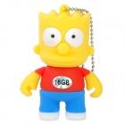 The Simpsons Bart Simpson Figure Style USB 2.0 Flash Drive - Yellow (16GB)