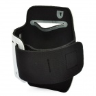 Trendy Waterproof Outdoor Sports Arm Band for iPhone / Samsung i9100 / S583 + More - Black + White