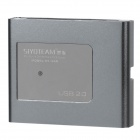 SY-660 USB 2.0 Multi-in-One Memory Card Reader - Grey (Max. 32GB)