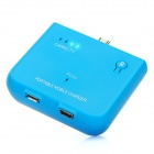 Rechargeable 1500mAh External Emergency Power Charger for HTC One X / S / V / S720E - Blue
