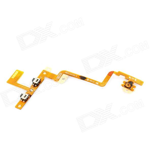 Professional Side Button Ribbon Cable Module for Ipod Touch 4 - Silver