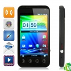 "GTmobile G2 Android 4.0 WCDMA Bar Phone w/ 4.0"" Capacitive, GPS, Wi-Fi and Dual-SIM - Black"