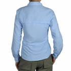 Topsky Outdoor Quick Dry Long Sleeves Shirt for Women - Sky Blue (Size-XL)